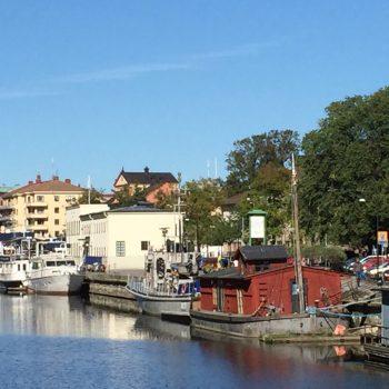 Vandrarhemsbåten i Uppsala centrum